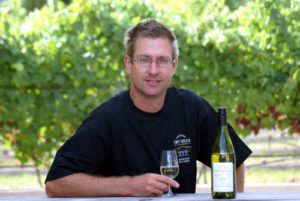 Lawson's Dry Hills winemaker Marcus Wright.