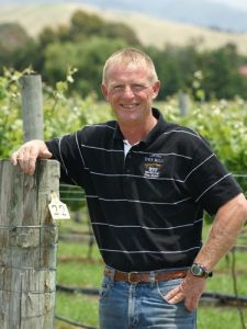 Mark Ludemann, Lawson's Dry Hills Viticulturist.