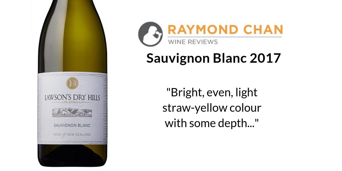 Raymond Chan Wine Review – LDH Sauvignon Blanc 2017