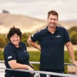 Bec and Marcus, our winemakers